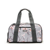 Burner Gym Duffel Gray Cherry Blossom