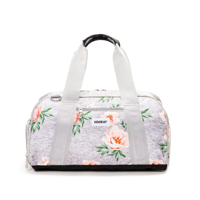 Burner Gym Duffel Rose Gray