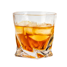 Load image into Gallery viewer, Bar & Barrel - Premium Twisted Crystal Whiskey Glasses Gift Set