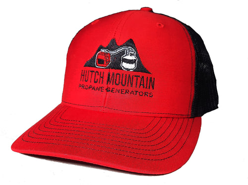 Hutch Mountain Hat (Red) Front