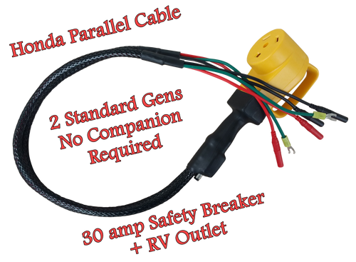 Power Grip Parallel Cable w/Handle + 30amp Breaker