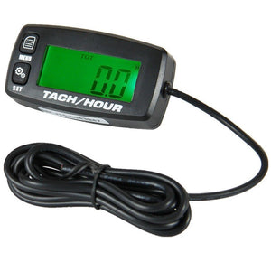 Hour Meter + Tachometer Front View