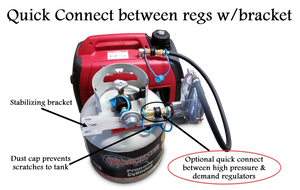 Honda EU3000is Propane, Natural Gas, Gasoline Tri-Fuel Conversion Kit