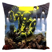 Load image into Gallery viewer, Machine Men Throw Pillow