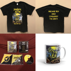 Machine Men CD, Shirt, and Mug