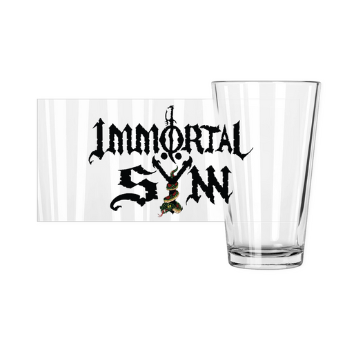 Pint Glass w/ Logo