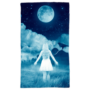 Hand Towel - Haunted