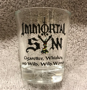 """Whiskey"" Shot Glass"