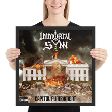 Load image into Gallery viewer, Capitol Punishment framed poster