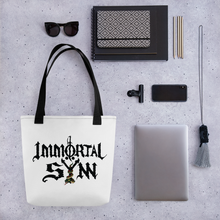 Load image into Gallery viewer, Immortal Sÿnn Tote w/ Logo