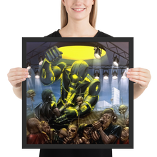 Load image into Gallery viewer, Machine Men framed poster