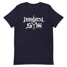 Load image into Gallery viewer, Immortal Sÿnn Logo - Unisex T-Shirt - Dark Colors