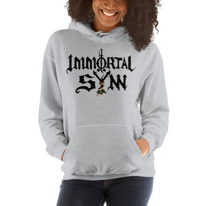 Unisex Hooded Sweatshirt w/ Logo