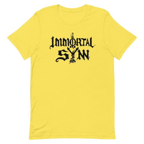 Immortal Sÿnn Logo - Unisex T-Shirt - Light Colors