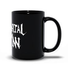 Load image into Gallery viewer, Black Mug w/ Logo