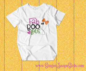 Fab Boo lous Ghost Sublimation Transfers