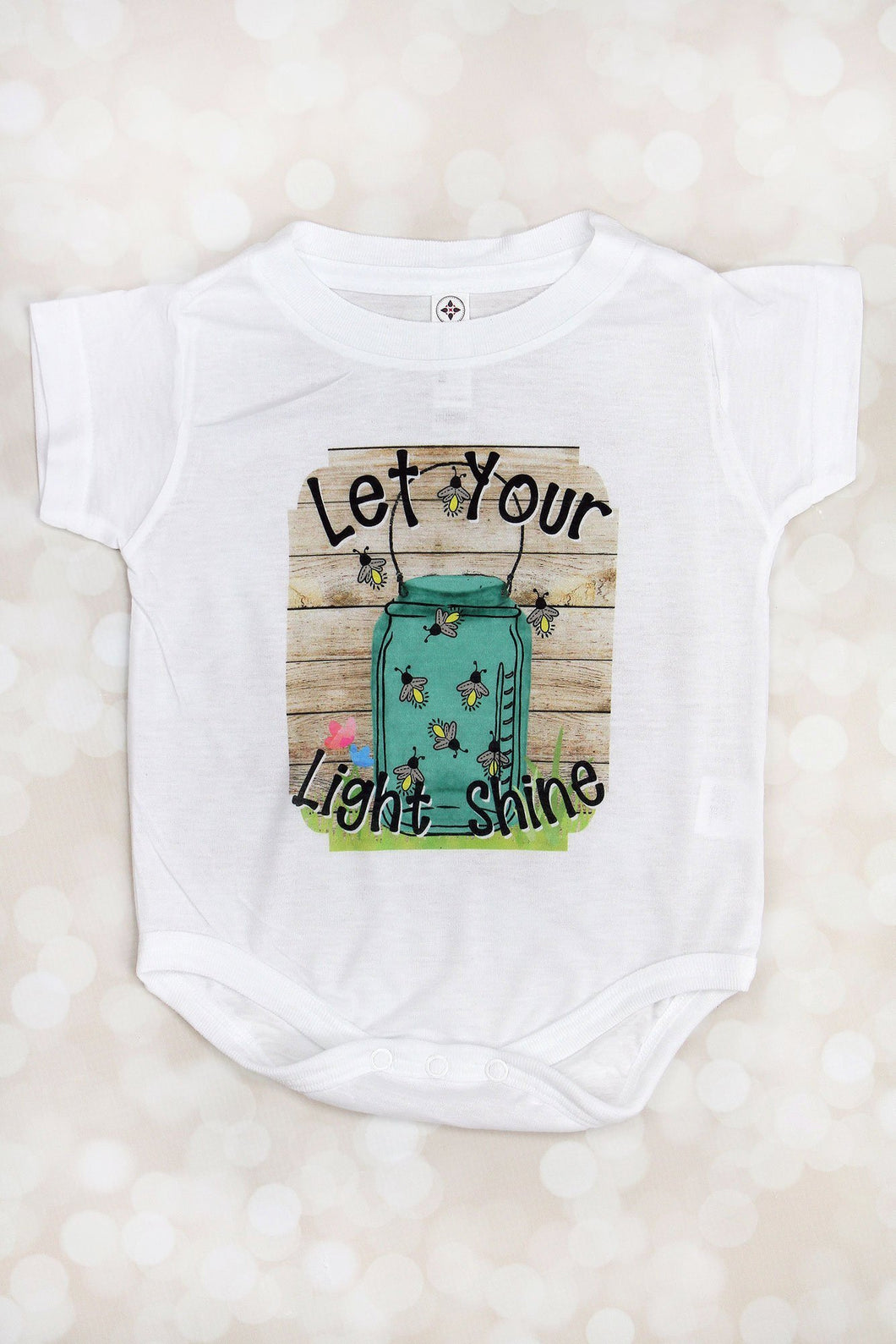 Let Your Light Shine Fireflies Sublimation Transfers