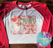 Load image into Gallery viewer, Believe in the Magic Vintage Santa Claus Christmas Sublimation Transfers