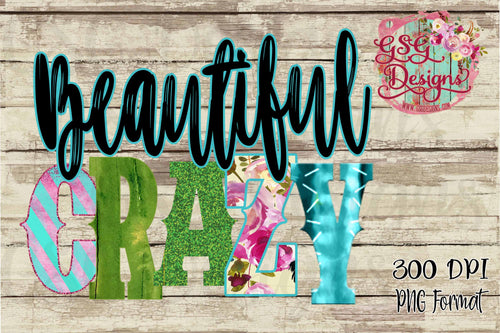 Beautiful Crazy Boho Sublimation Transfers