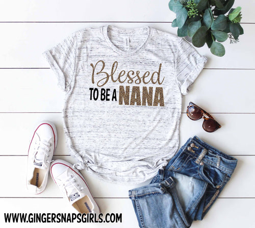 Blessed to Be a Custom Nana, Meme, Gigi, Auntie, Mom Leopard Sublimation Design File