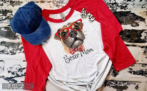 Boxer Mom Sublimation Transfers