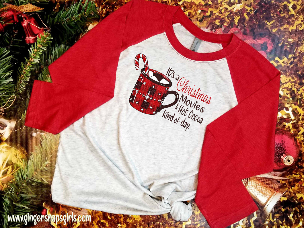 It's a Christmas Movie and Hot Cocoa Kind of Day Holiday Sublimation Transfers