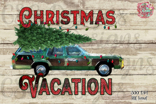 Christmas Vacation Screen Print High Heat Transfers RTS