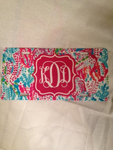 Load image into Gallery viewer, Southern Beach Style Monogram License Plate Sublimation Transfers
