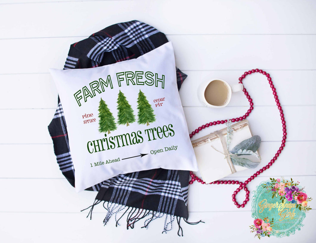 Farm Fresh Christmas Trees Christmas Sublimation Transfers