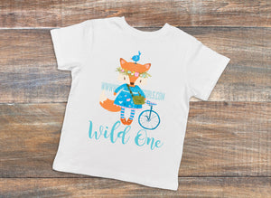 Wild One Sublimation Transfers