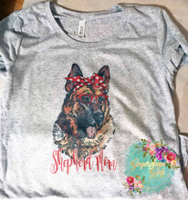 Load image into Gallery viewer, German Shepherd Mom Sublimation Transfers