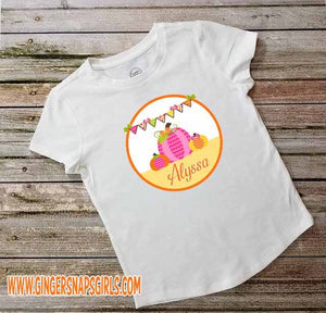 Personalized Children's Pumpkin Sublimation Transfers