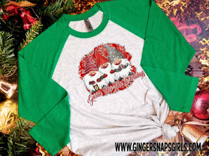 Gnome for the Holidays Christmas Sublimation Transfers