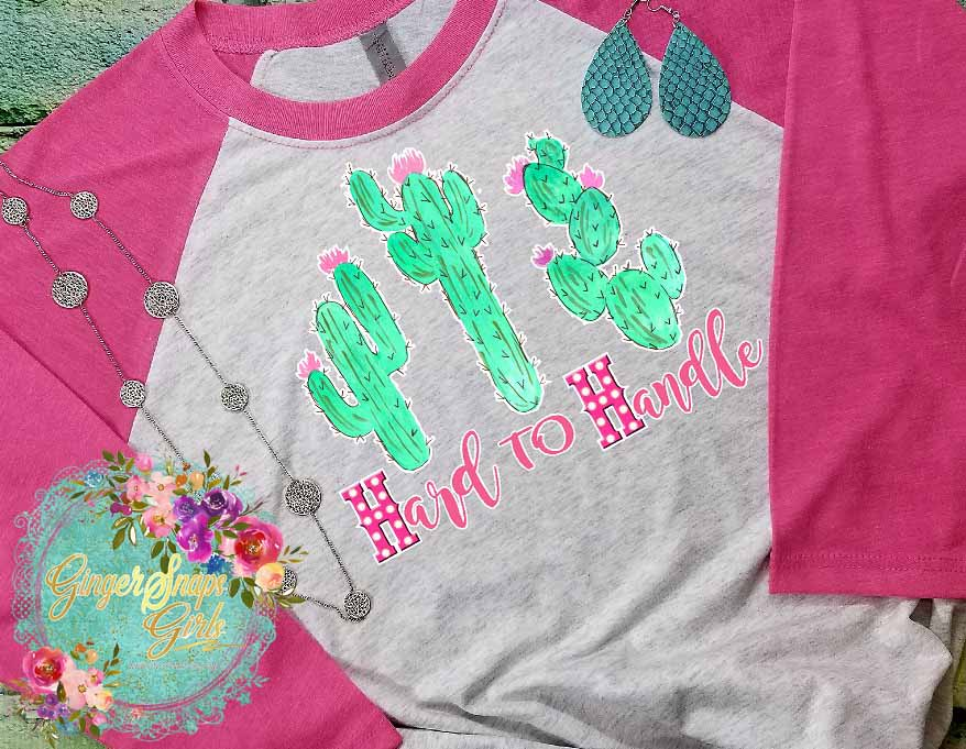Hard to Handle Cactus Sublimation Transfers