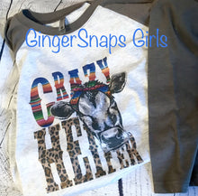 Load image into Gallery viewer, Crazy Heifer Serape & Leopard Cow Sublimation Transfers