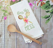 Load image into Gallery viewer, Bless this Mess floral kitchen Sublimation Transfers