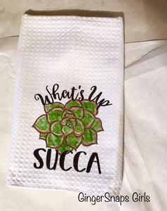 Cactus Humor Get to the Point, What's Up Succa, Home Sweet Home Succulent Sublimation Transfers