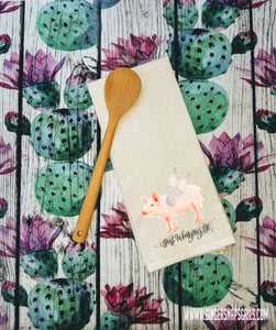 Sassy Kitchen- What the Fork, She Found a Way to Have Her Cake & Eat it Too, When Pigs Fly Sublimation Transfers
