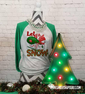 Let it Snow Snowman Sublimation Transfers