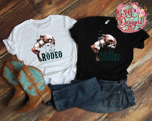 Let's Rodeo Printable and Sublimation Digital Design File PNG