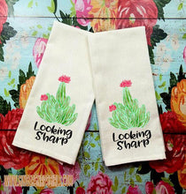 Load image into Gallery viewer, Cactus Humor Get to the Point, What's Up Succa, Home Sweet Home Succulent Sublimation Transfers