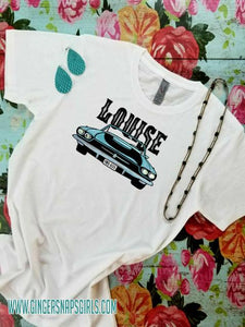 Thelma & Louise Thunderbird Sublimation Transfers