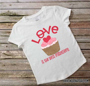Love is the Best Ingredient Valentine's Day Digital Print and Sublimation Design File