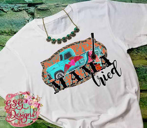 Mama Tried Vintage Truck Sublimation Transfers