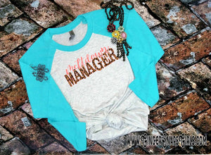 Meltdown Manager Leopard Mom Sublimation Transfers