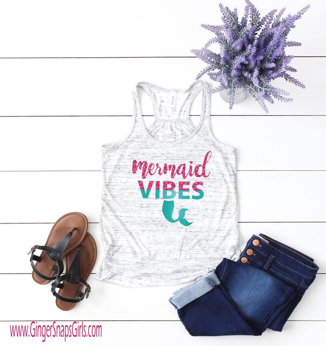 Mermaid Vibes Sublimation Transfers