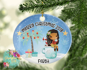 Christmas Princesses Personalized Sublimation Transfers