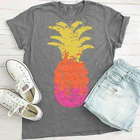 Ombre Pineapple Sublimation Transfers
