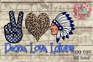 Custom Peace Love Your Mascot Sublimation Transfers