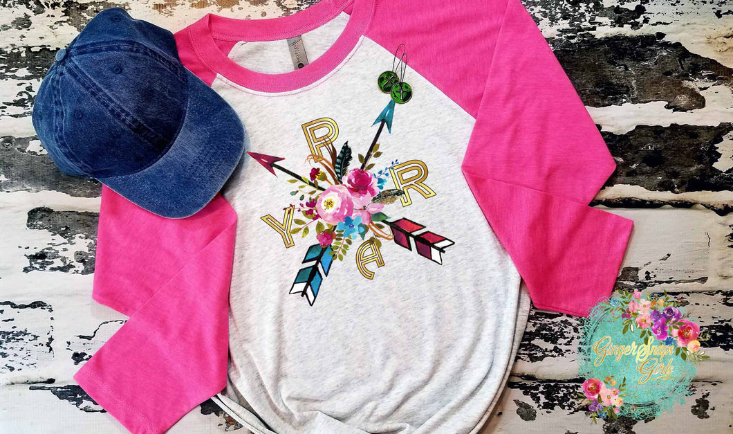 Pray Boho Flowers and Arrows Sublimation Transfers